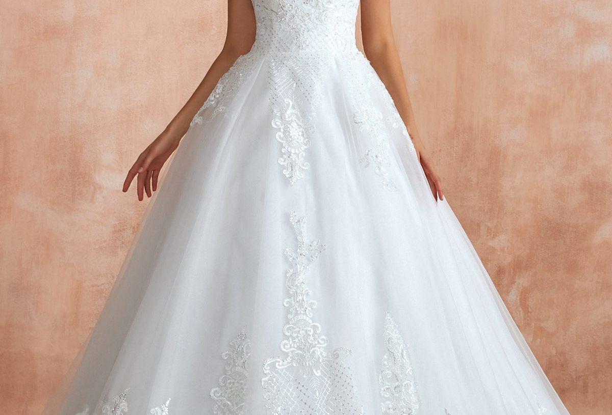 Choisir une robe de mariée par type de corps